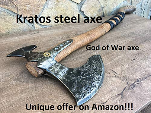 Kratos axe, Leviathan axe, God of War, viking axe, cosplay axe, cosplay armor, cosplay weapon, prop, replica, Kratos weapon, costume weapon