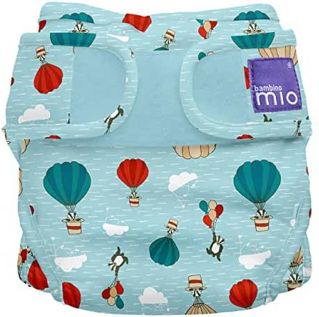 Bambino Mio, Miosoft Cloth Diaper Cover, Sky Ride, Size 2 (21lbs+)