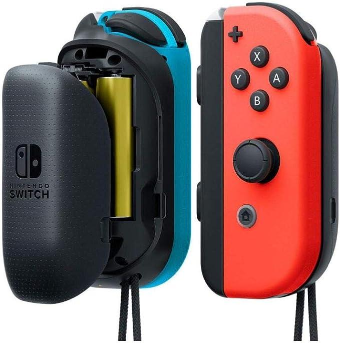 Nintendo - Cargador para Joy-con con Pilas AA Switch: Nintendo ...