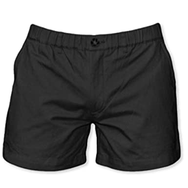 "27b668a759 Meripex Apparel Men's 5.5"" Inseam Elastic-Waist Shorts 4-Way Stretch; ("