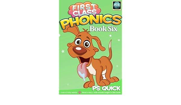 first class phonics book 6 quick p s