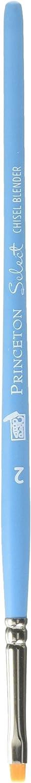 Princeton Artist Brush Select Synthetic Brush Chisel Blender Size 2