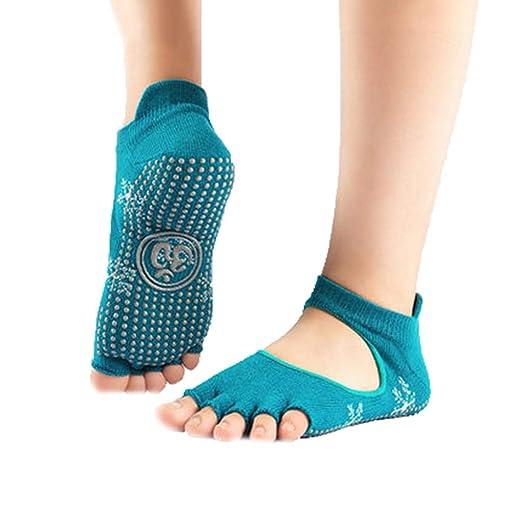 HappyTime Calcetines de Yoga Y y Cinco Dedos Calcetines de ...