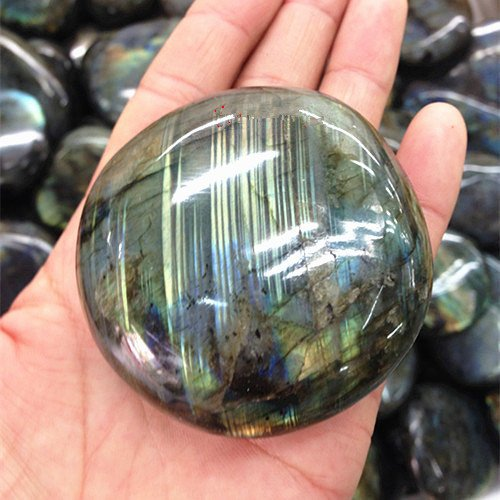 Crystal Agate ®1/2 Lb Labradorite Tumbled Polished for sale  Delivered anywhere in USA