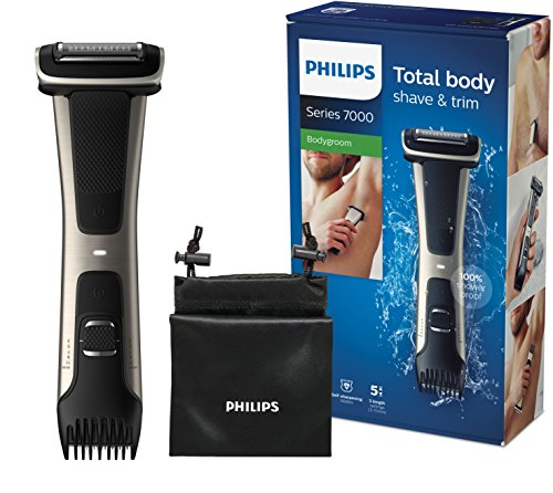 Philips BG7025/15 Bodygroom Series 7000 with Integrated Comb Attachment (3 to 11 mm)