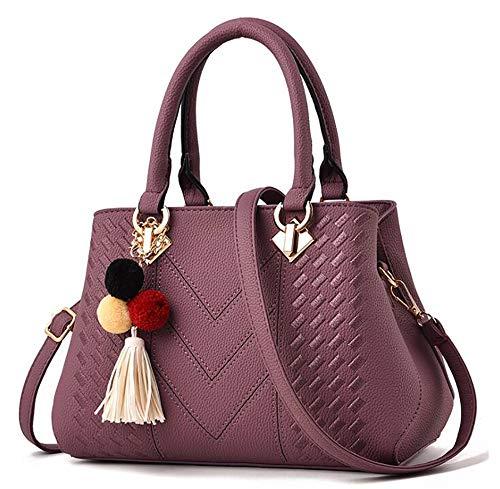 fourre à à croisés 19cm Centrale purple 28 bandoulière d'unité Cuir en Tout La Mode 12 PU bandoulière LIGYM Sacoche Sacs Sacs OAwZxqzEA