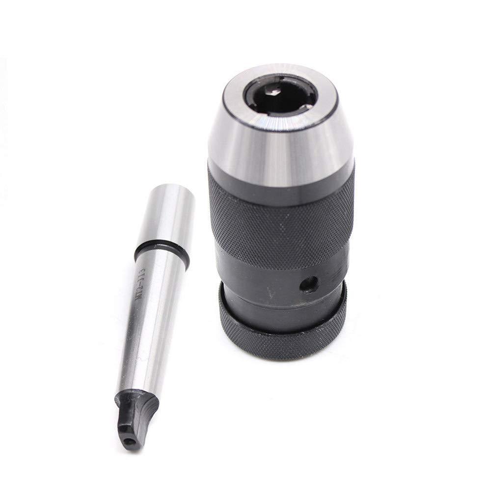 Keyless 1-16mm Self Tighten 3JT/&JT3-MT2 Arbor for Lathe Drill MT2 Drill Chuck