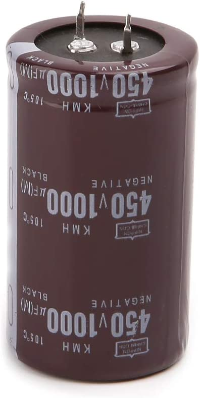 siwetg High Frequency 450V 1000uF Aluminium Electrolytic Capacitor Volume 35x60