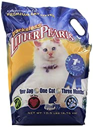 Tracksless Litter Pearls cat Litter