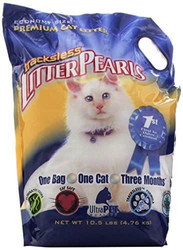 - Tracksless Litter Pearls cat Litter - 10.5 lb