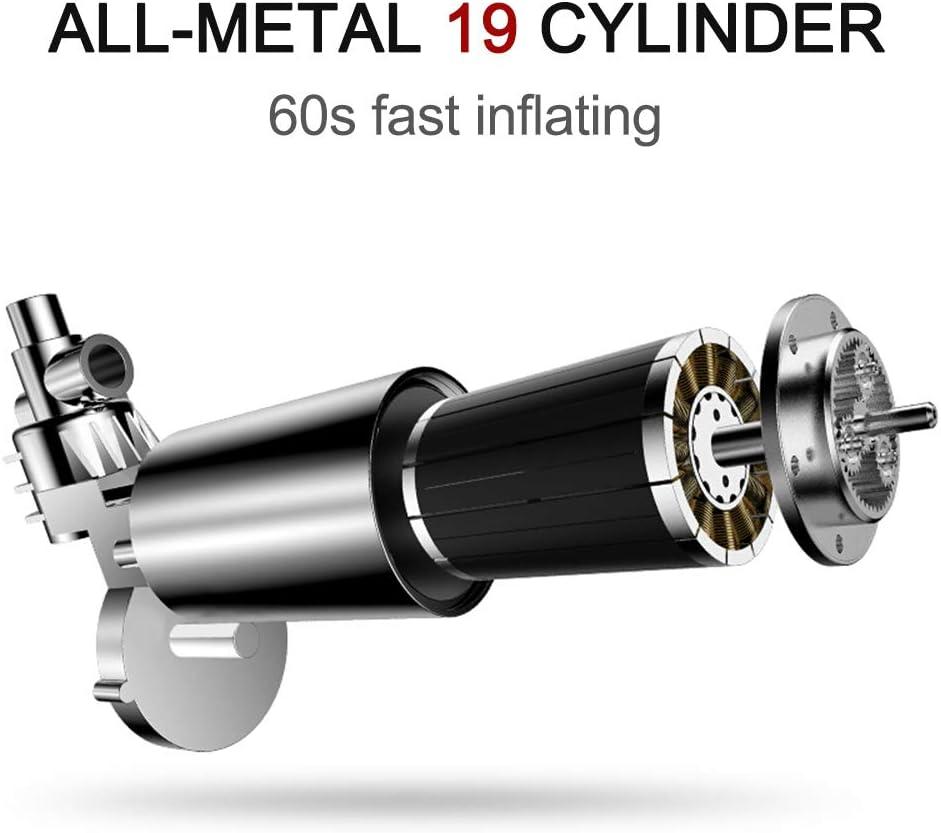 SUV Boot Vislone Luftkompressor DC 12 V Tragbare Pumpe Reifenf/üller mit digitalem Manometer bis 150 PSI f/ür Auto Fahrrad