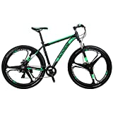 EUROBIKE EURX9 Mountain Bike 21 Speed 3-Spoke 29 Inches Wheels Dual...