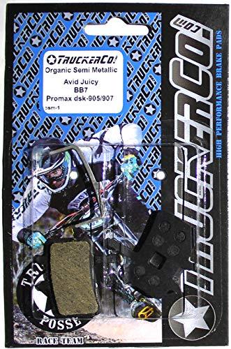 Organic Semi-Metallic Avid Juicy Brake pads 7 5 3 bb7 ()