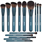BS-MALL Makeup Brush Set 14Pcs Premium Synthetic Professional Makeup Brushes Foundation Powder Blending