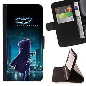 Momo Phone Case / Flip Funda de Cuero Case Cover - BAT SUPERHERO - Sony Xperia Z5 Compact Z5 Mini (Not for Normal Z5)
