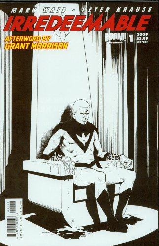 Download Irredeemable 1 Black & White Cover ebook