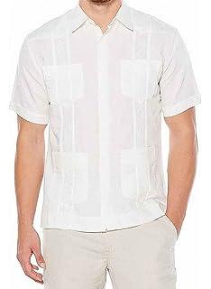 Havanera - Camisa de manga corta para hombre: Amazon.es: Ropa y accesorios