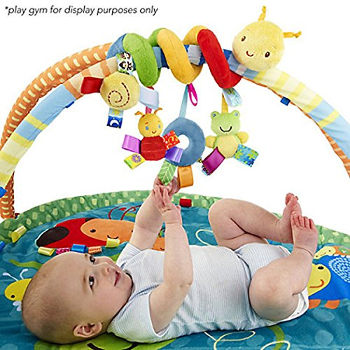VEBE Multi-function Bedroom Decoration Infant Baby Activity Spiral Bed & Stroller Toy & Travel Activity Toy by VEBE (Image #2)