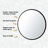 Hciszl 5pcs/Set Scandinavian Moon Phase Mirror Wall