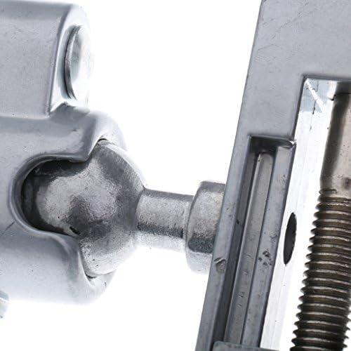 バイス(2個) 卓上 万力 精密 360度回転 アルミニウム合金 耐久性 木工クランプ