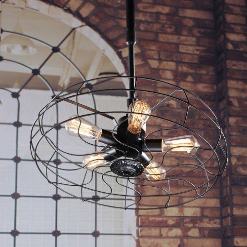 lightinthebox fan shape vintage industrial 5 light pendant light