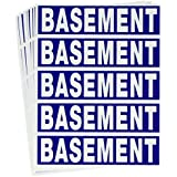 Tag-A-Room Basement Color Coded Moving Labels (50 Count), Moving Supplies