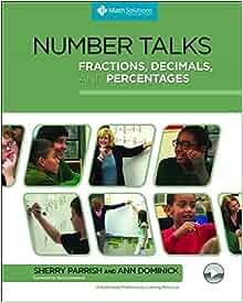 Image result for number talks fractions decimals percentages