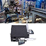 Micrometer Platform,120x120mm Digital Displayed Micrometer Stage,0.002mm Micrometer Roller Linear Stage,for Production…