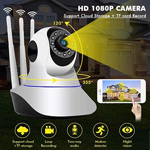 Cámara De Vigilancia Inalámbrica HD 1080p WiFi Seguridad ...
