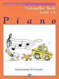 Alfred's Basic Piano Library Notespeller, Bk 1A