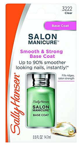 Sally Hansen Salon Manicure Smooth and Strong Base Coat, 0.5 Fluid Ounce