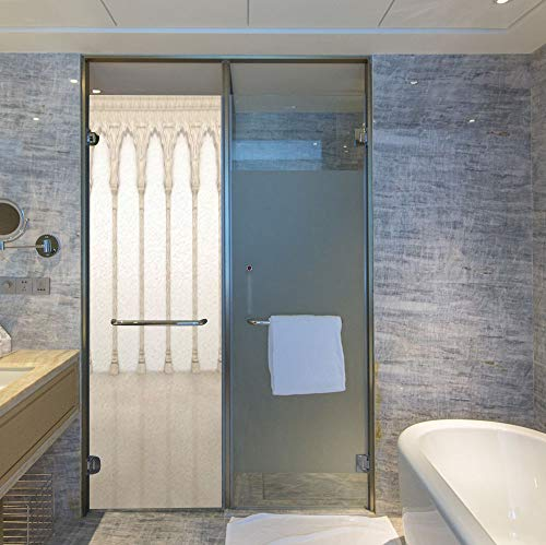 (YOLIYANA Vinyl Window Film,Pillar Decor,Work Well in The Bathroom,Architecture Theme Wall with Graceful Columns and Arches,24''x78'')
