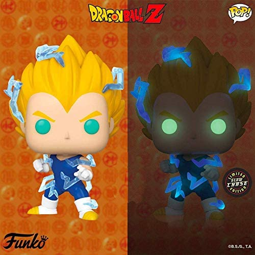 Funko Animation Dragon Ball Z Super Saiyan 2 Vegeta Figure Chase Limited Edition