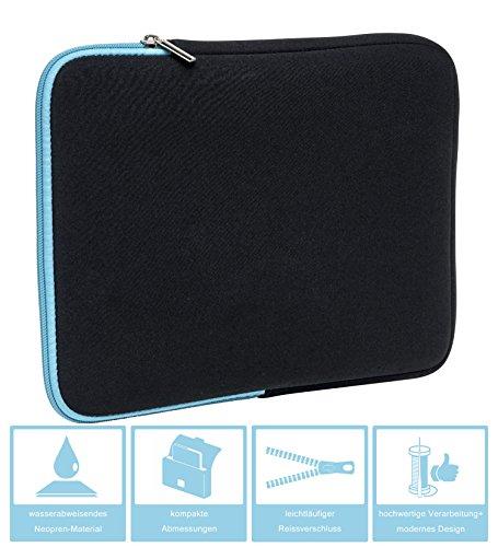 Slabo Tablet Tasche Schutzhülle für Huawei MediaPad M3 21,33 cm (8,4) Hülle Etui Case Phablet aus Neopren
