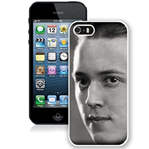 Beautiful Designed Cover Case With Bi Beiderbecke Face Haircut Light History (2) For iPhone 5S Phone Case