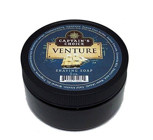 Captain's Choice VENTURE Shaving Soap - 5 oz. by Captain's Choice