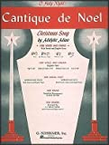 img - for G. Schirmer Cantique De Noel (O Holy Night) In D Flat for Medium High Voice By Adam / Deis book / textbook / text book