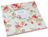 3 Sisters Poetry Prints Layer Cake 42 10-inch Squares Moda Fabrics 44130LC