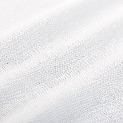 Thick Kitchen Tiers Semi Sheer Café Curtains Rod Pocket Casual Weave Textured Half Window Curtains for Bathroom
