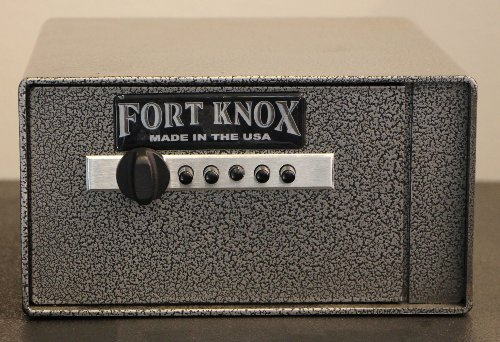 Fort Knox FTK-PN Personal Pistol Box Handgun Safe by Fort Knox