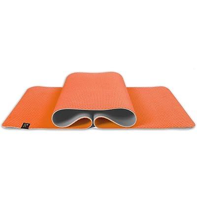 HJHY® Tapis de yoga, Thicken Widen Tapis de fitness anti-dérapant Insipide Protection de l'environnement Tapis de yoga Bonne élasticité