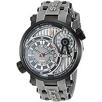 Swiss Legend Men's 'Time Traveler' Swiss Quartz Stainless Steel Casual Watch (Model: 13841SM-BB-014-GRYS)