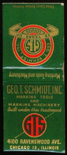 geo-t-schmidt-marking-tools-chicago-matchcover-40s