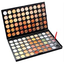 120 Earth-toned Colors Eye Shadow, Marrywindix Eyeshadow Palette Makeup Kit Eye Colour Grooming Palette Concealer