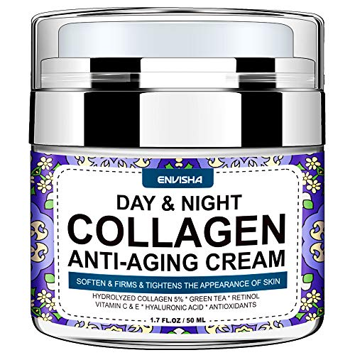 Wumal Collagen Cream - Day and Night Cream for Women & Men - Face Moisturizer with Hyaluronic Acid & Vitamin C, Helps Cleanse, Moisturize, Rejuvenate, and Brighter Your Skin