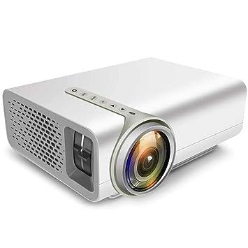 Mini portátil proyector- 2.800 Lux de Cine en casa proyector de ...