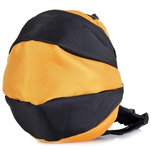 UEETEK Biene Form Kinder Sport Outdoor-Anti-verlorene Rucksack Schultasche mit Hut für Kinder