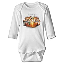 Doctor Who 50th Anniversary Baby Long Sleeve Bodysuits