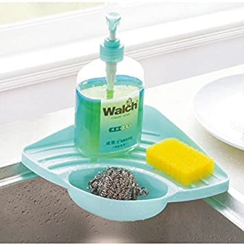 Kitchen Sink Suction Holder, Pretty Handy Sink Caddy For Sponges,  Scrubbers, Soap,