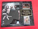 The Shield WWE 2 Card Collector Plaque w/8x10 Color